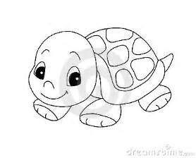 black white cute turtle royalty free stock photo image 13209635