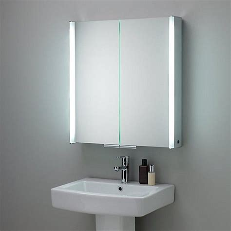 bathroom mirror side lights multifunction medicine cabinet with illuminated side light