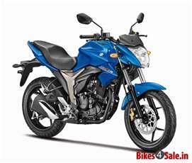 Suzuki Gixxer 150 Photos Blue Colour Suzuki Gixxer 150 Motorcycle Picture Gallery