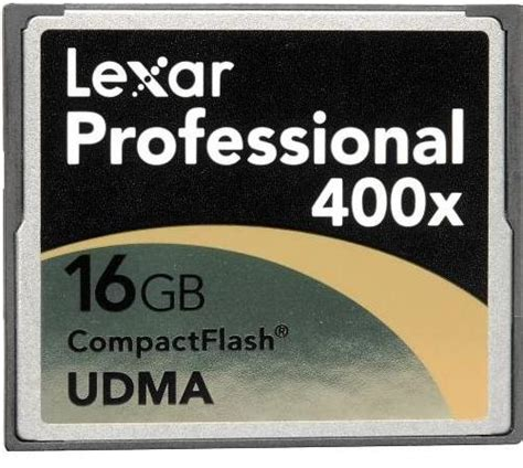 Memory Cf Compact Flash Pro 16 Gb Speed 160 Mbps lexar compact flash 16gb 400x pro udma card