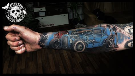 tattoo of hot rods hot rod tattoo google search pinteres