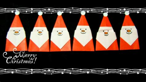 origami mini santa origami maniacs 223 mini santa claus
