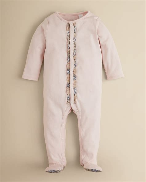 Legging Baby Bulberry Hitam Putih 6 12m burberry infant elva footie sizes 1 12 months bloomingdale s