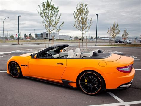 matte orange maserati 17 best ideas about maserati convertible on pinterest