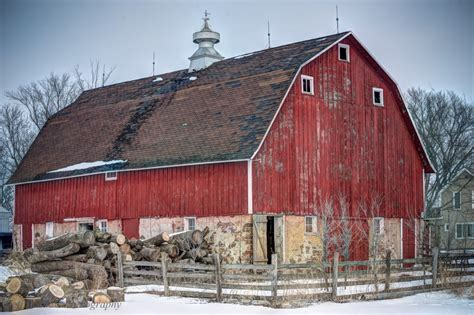 Gambrel Roof Barns | gambrel roof barn jeff beddow words and pictures