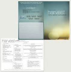 bulletin layout free 10 best modern church bulletins newsletters images on