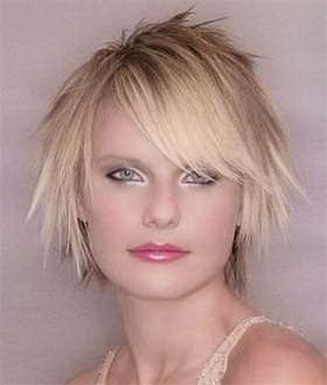 short choppy razored hairstyles short bob haircuts for fat women short hairstyle 2013