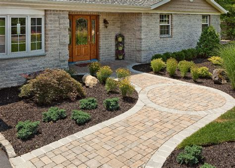 pathway designs 3 cheap walkway ideas long island landscaping
