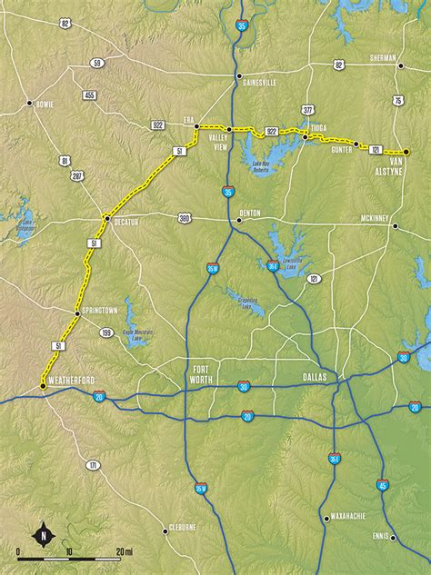 alstyne texas map alstyne to weatherford tx 121 tx 922 tx 51 ride texas ride texas