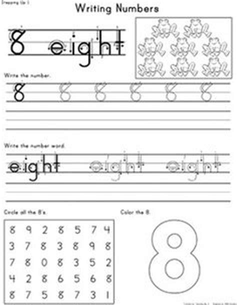 Number Book. Kindergarten/Preschool Math | Kindergarten