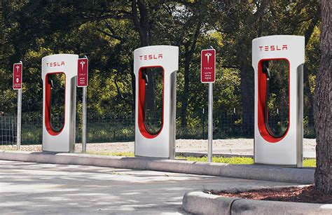 Superchargers Tesla Model 3 Owners Will Pay For Access To Tesla Superchargers