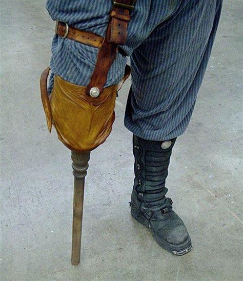 pattern for pirates peg leg custom made peg leg costume fantasy costumes pinterest