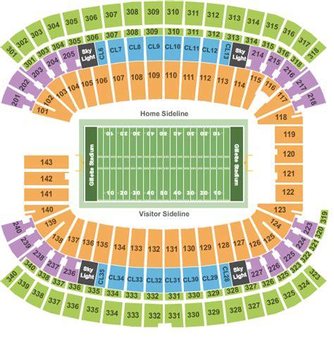 Gillette Stadium Box Office by Jason Aldean Tickets Seating Chart Gillette Stadium