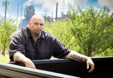 john fetterman tattoos we found the coolest populist in america and he s running