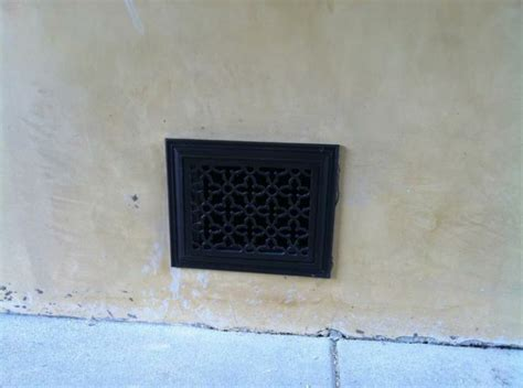 outdoor foundation vent grille cover decorative vent