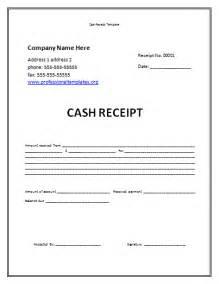 Cash Receipt Template Free Receipt Template Free Cash Receipt Template