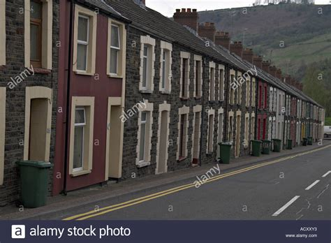houses to buy in south wales terraced houses south wales mining town stock photo royalty free image 7570994 alamy