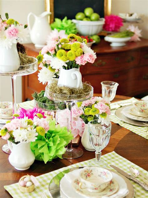 spring table decorations 15 easter table setting ideas to try entertaining ideas