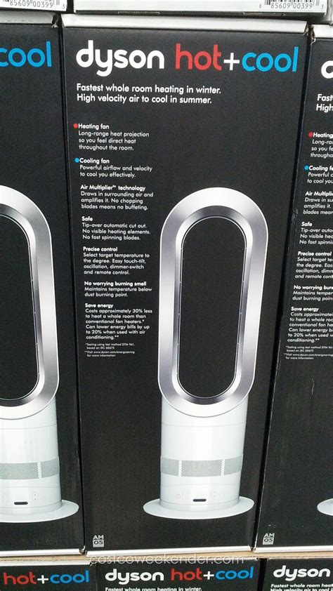 dyson fan heater costco dyson cool am05 bladeless heater and fan costco