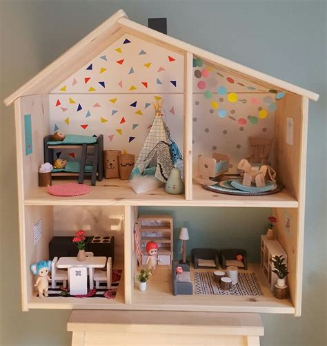 ikea doll house 63 best flisat images on pinterest doll houses dollhouses and ikea dollhouse