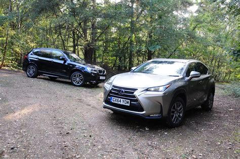 Lexus NX vs BMW X3   pictures   Auto Express