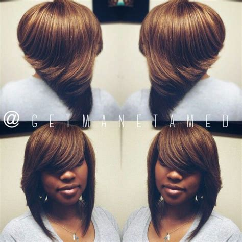 blonde bob no leave out ombre bobs full sew in no leave out bob cut razor cuts