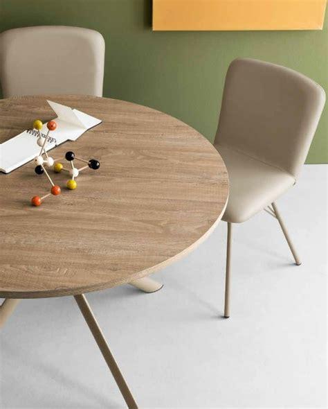 tavolo tondo calligaris tavolo rotondo allugabile giove di connubia calligaris