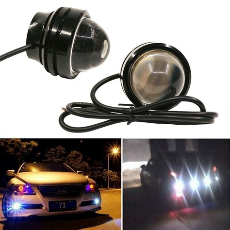 led lights too bright 1pc 15w 12v super bright led light eagle eye daytime