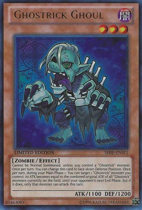 Ghostrick Ghoul Mp14 En126 1st Edition shsp ensp1 ghostrick ghoul