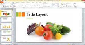 food powerpoint templates free free fresh food template for powerpoint 2013 powerpoint