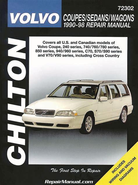 chilton volvo coupes sedans wagons   repair manual