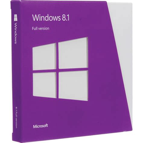 microsoft windows 8 1 dvd 32 64 bit wn7 00578 b h photo