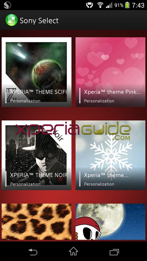 new themes for xperia new stock xperia themes gizmo bolt exposing technology