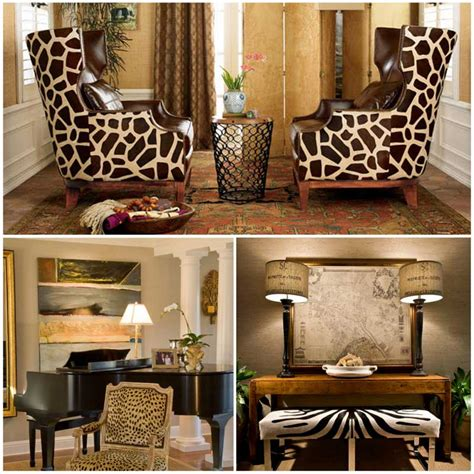 animal print interior design home design