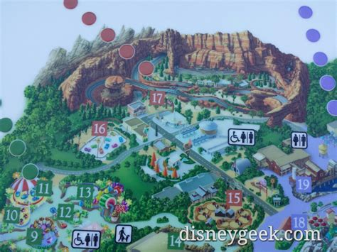disney california adventure map disney california adventure braille map has the roadsters also soarin has no california