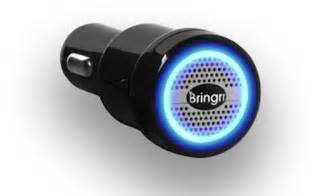 Car Air Freshener Plugs Into Cigarette Lighter Bringrr Alarm Plugs Into Your Car S Cigarette Lighter