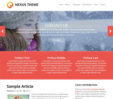 drupal theme detector nexus drupal theme download review 2018