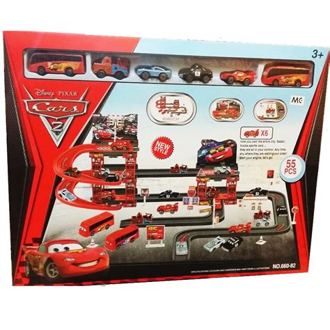 Car Garage Set by Battat Wooden Toys Library