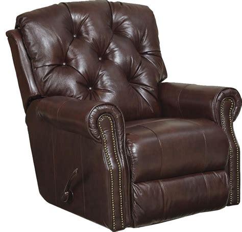 power recliner rocker davidson bordeaux leather power rocker recliner from