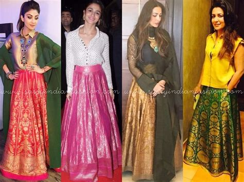 top celebrities in india indian long skirts and tops celebrity skirts tops