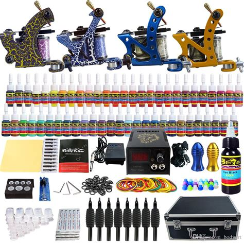 cheap tattoo kits with free shipping solong wholesale sale kit 4 beginner machine