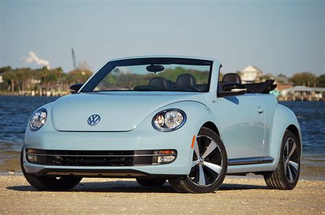 volkswagen convertible bug 2013 volkswagen beetle turbo convertible review photo