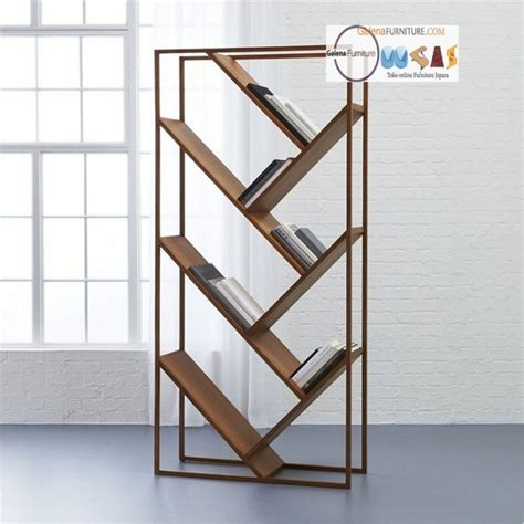 Jual Rak Buku Kayu Jati harga rak buku kayu minimalis jual furniture minimalis murah