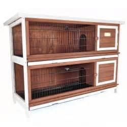 Duplex Rabbit Hutch Advantek Duplex Rabbit Hutch Rabbit Cages Amp Hutches At