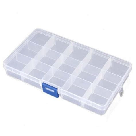 bead organizer box clear adjustable bead organizer box 1 77 shipped