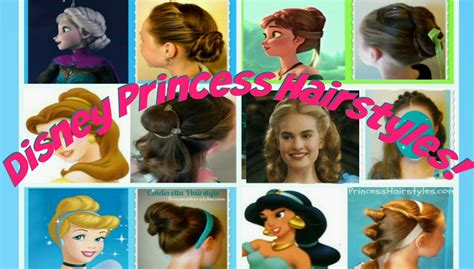 Disney Princess Hairstyle by Hairstyles For Princess Hairstyles