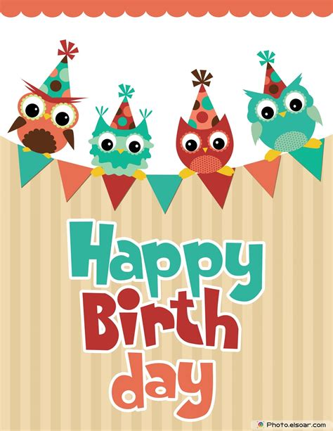 printable owl birthday card happy birthday card design with funny angry owl b day