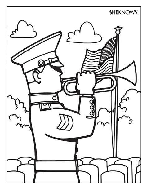 coloring pages for memorial day memorial day printable coloring pages