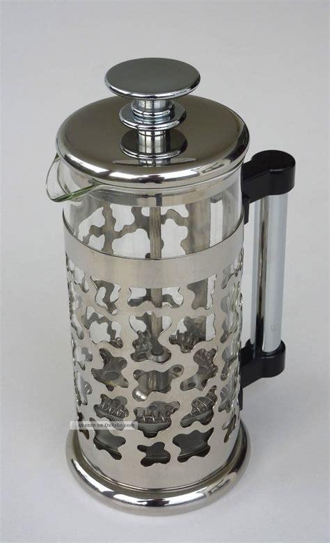alessi kaffeebereiter bodum kaffeebereiter espresso tee design george sowden