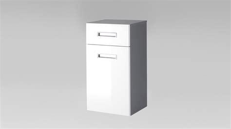 Badezimmer Unterschrank Grau by Unterschrank Manhattan Grau Wei 223 Hochglanz Badezimmer
